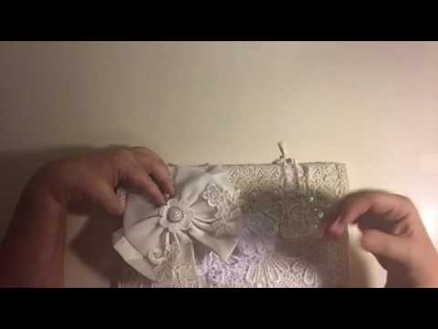 Bridal Clutch Bag -project share