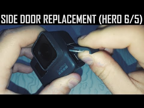 How To Replace The Side Door In Your GoPro Hero 6 / 5