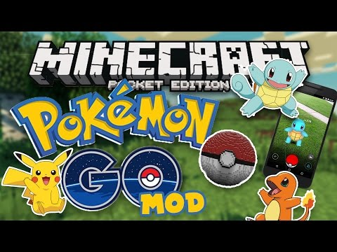 POKEMON GO MOD for MCPE!! Minecraft Pocket Edition Pixelmon