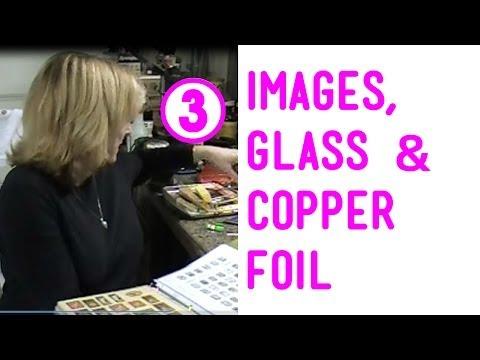Glass, Images & Copper Foil for Soldered Pendants