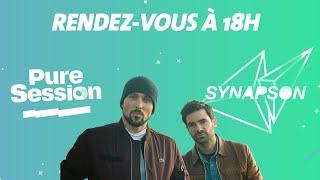 Synapson en PURE SESSION (feat Tim Dup, Tessa B.& Sirius Trema)
