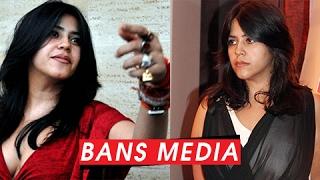 Ekta Kapoor BANS Media On The Sets Of Her Shows   SHOCKING!!