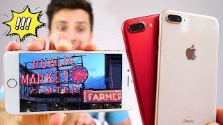 iPhone 8 Plus vs 7 Plus Camera Test! Worlds Best?