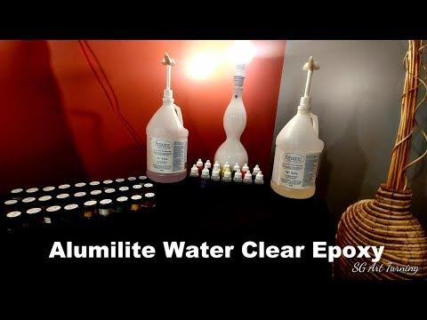 Alumilite Epoxy : Amazing clear cast , Water clear