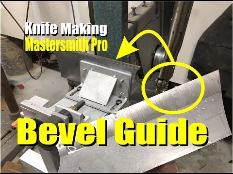 Knife Bevel Grinding Guide Mastersmith Pro Product Review