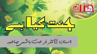 Dr Farhat Hashmi Topic JANNAT KY HIA ? || جنت کیا ہے || Jannat ki Nematon ka Bayan || NEW Lecture