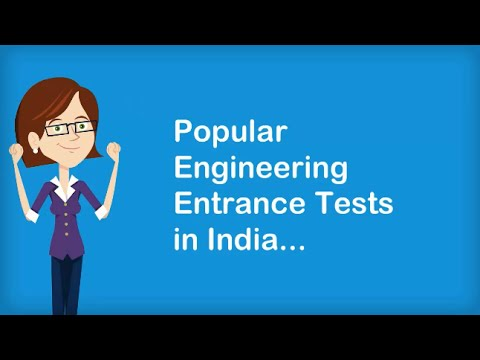 Popular Engineering Entrance Exams in India