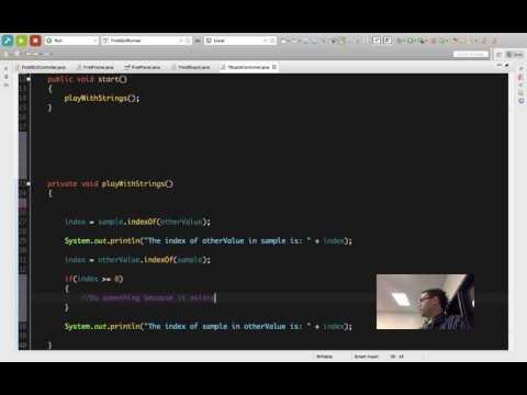 Java String Methods: Using indexOf