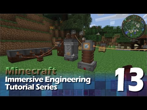 Immersive Engineering Tutorial #13 - Electric Bits