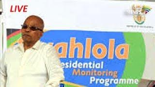 Siyahlola programme with Pres Zuma, Lusikisiki: 24 June 2017