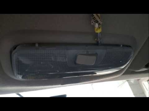 Ford fiesta DIY How to replace bulb on the front map lamp!!!