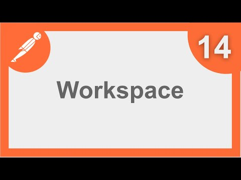 POSTMAN BEGINNER TUTORIAL 14 💡 How to create and manage WORKSPACES