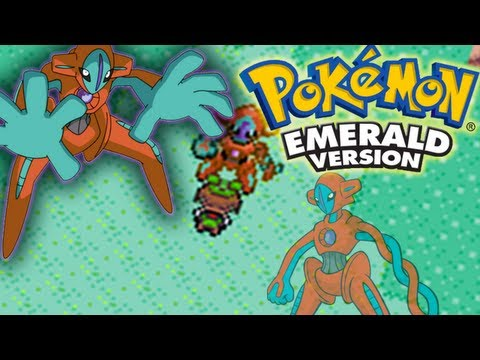 Pokemon Emerald | Deoxys- Puzzle & How To Catch (Without Master Ball) HD