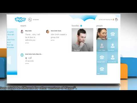 Test the sound quality on Skype® by free test call in Windows® 8.1