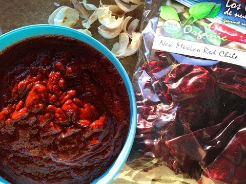 New Mexican Red Chili Sauce | Fresh P