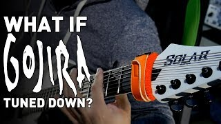 What If Gojira Tuned Down? (7 String Guitar Gojira Riff Compilation)