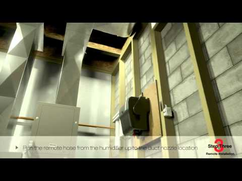 Honeywell Steam Humidification Installation
