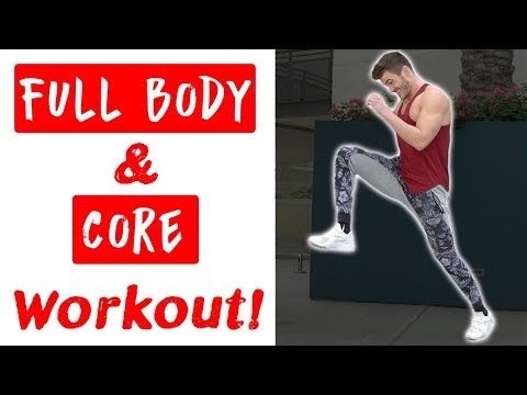 V Shred Full Body & Core HIIT Workout | 9 Bodyweight Exercises
