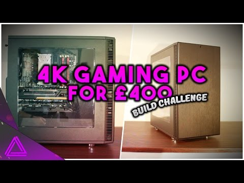 £400 / $500 4K Gaming PC! ~ Cheap PC Build Challenge ~ 144Hz / 4K Scorpio Killer Budget PC