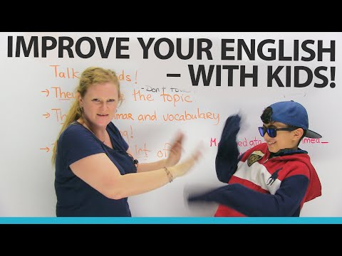 Practice your English by speaking with KIDS!