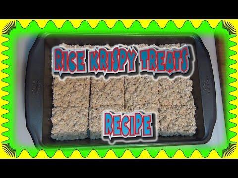 Rice krispy Treats Recipe so Tasty and Good