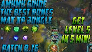 AMUMU RUNES S8: Amumu Buffs Patch 8.16 - The BEST Amumu Build For Low Elo | Amumu Guide Season 8
