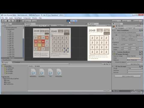 19. Randomly Generate New Tiles- Build 2048 puzzle game in Unity 3D