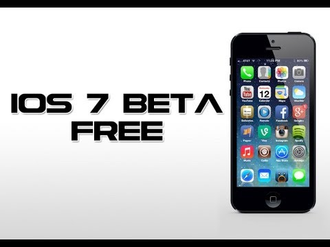 How to Install iOS 7 beta on iPhone 4/4S/5 & iPod touch 5th Gen for FREE Without Developer Account