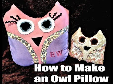 Make an Owl Pillow