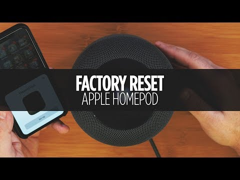 How to Factory Reset Your HomePod