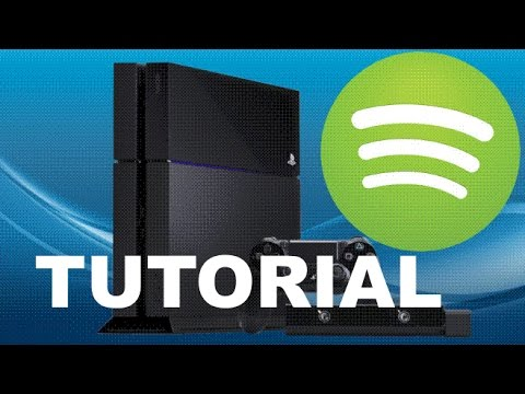 How to Play Spotify Music App while Playing a Game on PS4 & Change Volume Settings