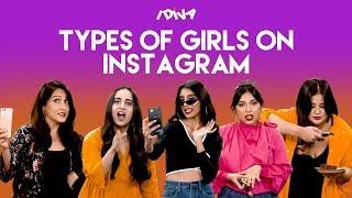 iDIVA - Types Of Girls On Instagram | Different Types Of Girls You Find On Instagram