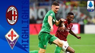 Milan 1-3 Fiorentina | Fiorentina condemn AC Milan to a third consecutive Serie A defeat | Serie A