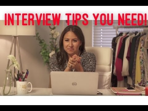 How to Ace an Interview! My interview Tips! | The Intern Queen