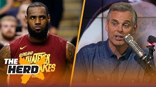Colin Cowherd reacts to LeBron