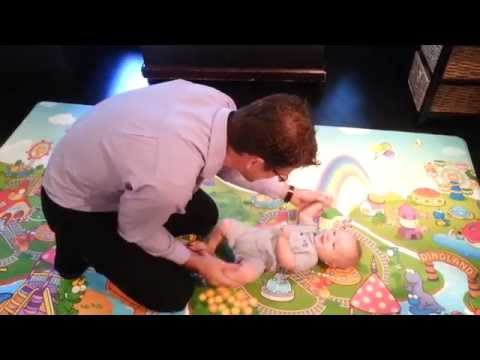 Baby Crawling Preparation- Cross Pattern Exercises