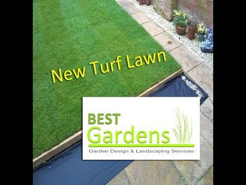 New Turf Lawn