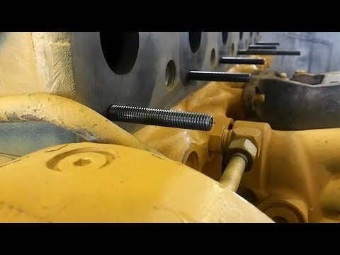 How To Install Exhaust Studs.  How To Use A Stud Installer.  How To Remove Exhaust Studs.