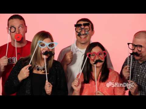 Make a Face Photo Booth Props - Wedding Decorations - Shindigz Wearables