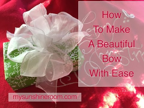 Bowdabra Christmas Package Bow