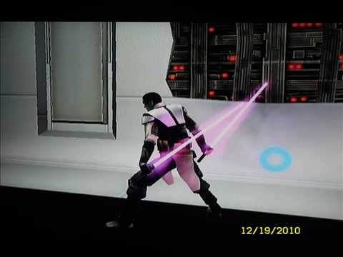 Star Wars: The Force Unleashed II; lightsaber color crystals (Wii)