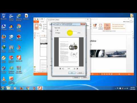 PDF Tutorials: How to Convert PDF to Doc (Word) Format