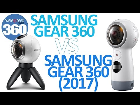 Samsung Gear 360 2017 vs Samsung Gear 360 2016