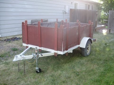 Redoing a Utility Trailer for under $100