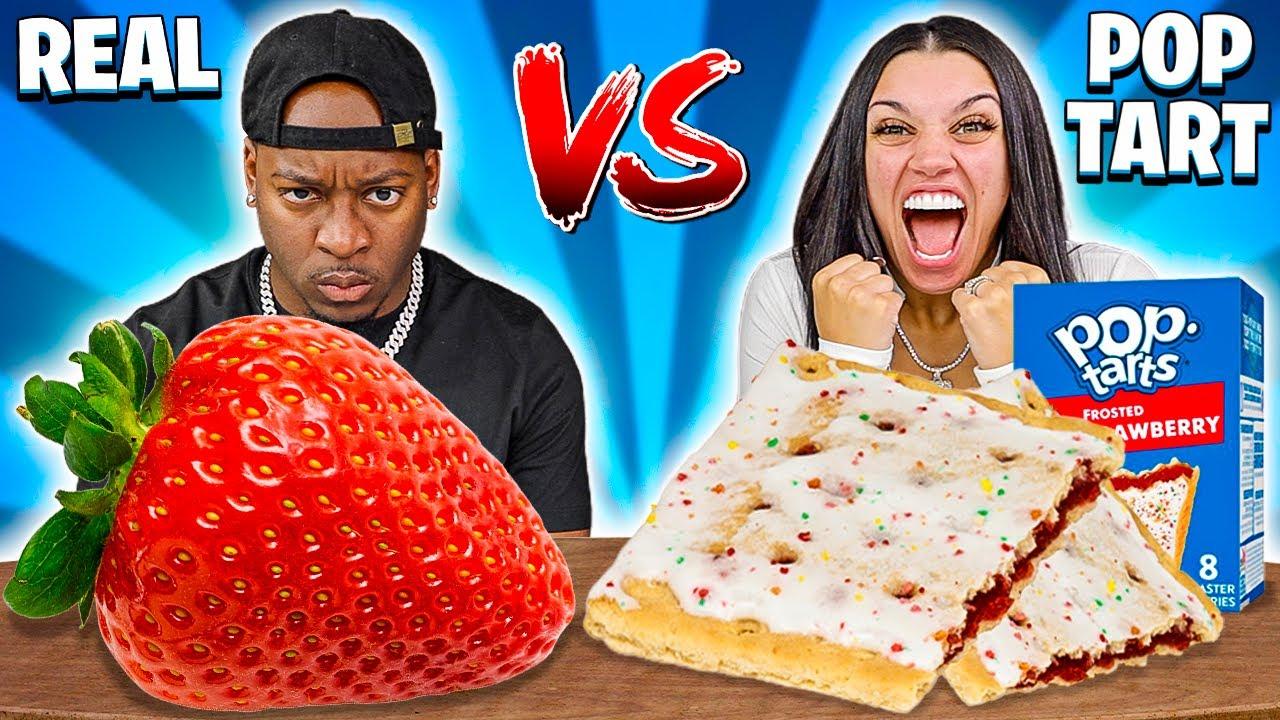 POPTART VS REAL FOOD CHALLENGE