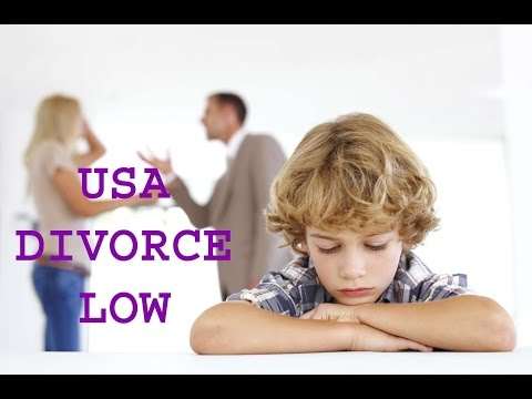 Divorce low in usa