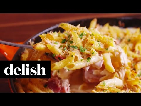 Chicken Cordon Bleu Penne | Delish