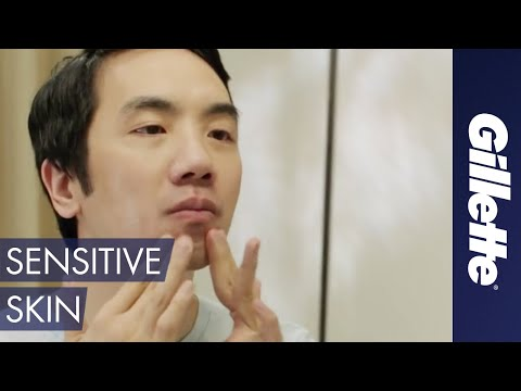 Men's Skin Care Tips: How to Shave Sensitive Skin