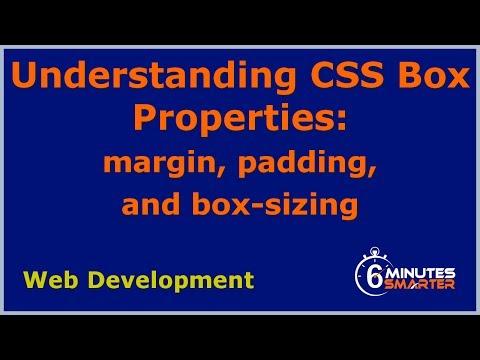 Understanding CSS Box Properties