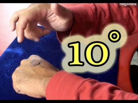 10° Easy coin magic tricks revealed